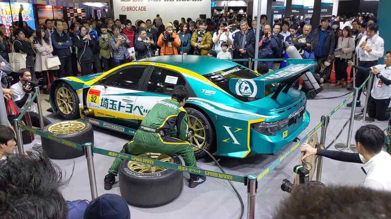 Pit challenge demo Tokyo Auto Salon 2020