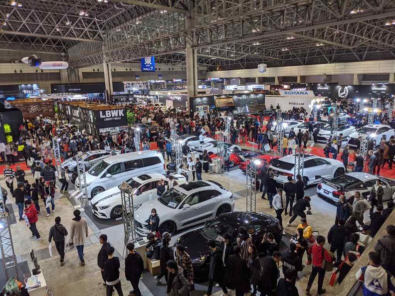 Tokyo Auto Salon 2020 show floor