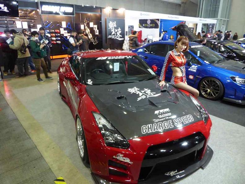 Garage speed rides at Tokyo Auto Salon