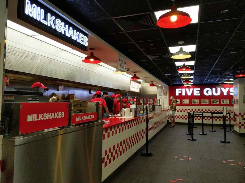 Welcome to Five Guys at Plaza Singapura